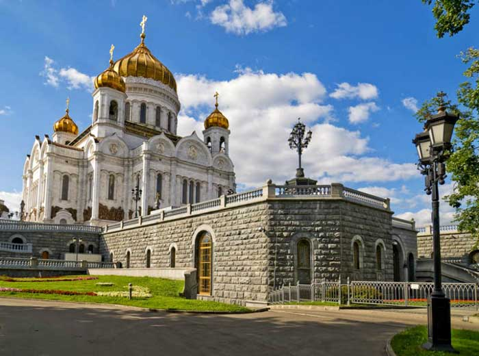 Cathedral of Christ the Saviour in Russia