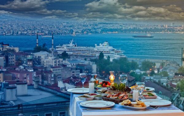 Turkey Travel Tips - Eleos Restaurant A Hidden Gem With Amazing View of Bosporus