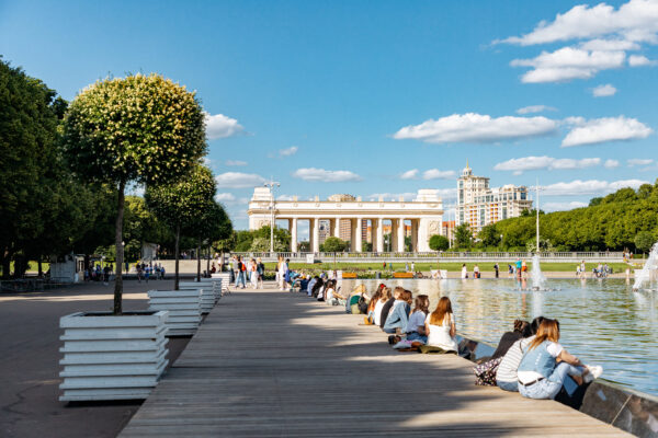 Moscow Tourist Attractions Guide - Gorky Central Park of Culture and Leisure is Good to Spend Time There And Relax