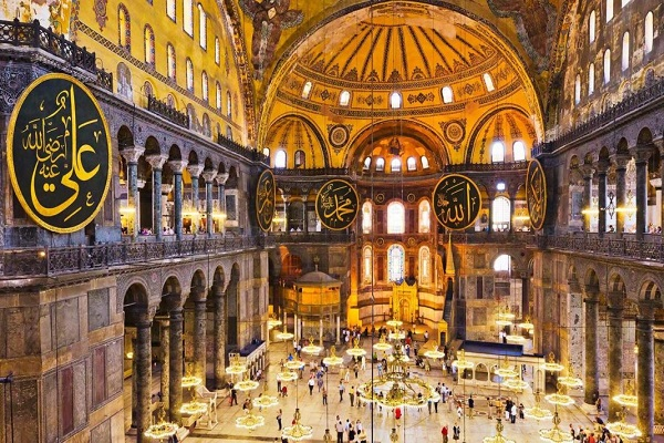 The Most Famous Mosques in Istanbul - Hagia Sophia Museum A Very Popular Place Among Tourists