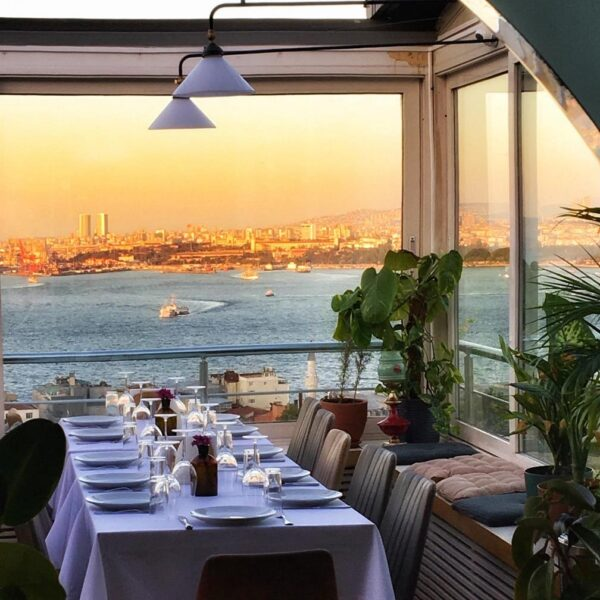 Turkey Travel Tips - Leb-i Derya A Terrace Restaurant With A View Over Bosporus