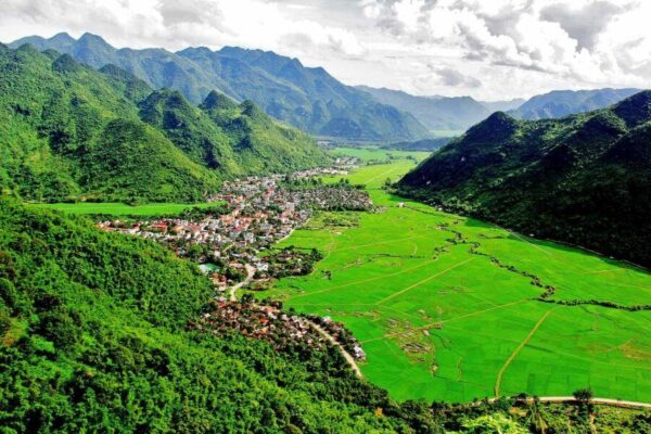 Mai Chau - sigh in Northern Vietnam