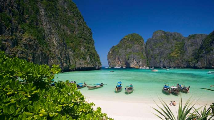 Maya Bay is one of the most beautiful beaches in Thailand