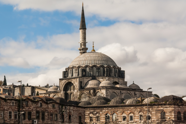 The Most Famous Mosques in Istanbul - Rüstem Pasha Mosque Built By Mimar Sinan