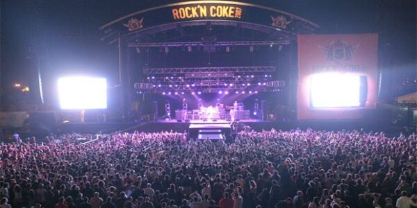 Top Festivals in Turkey - Rock n'Coke A Rock Music Festival Happens in July
