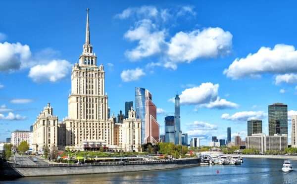 Travel Guide Russia - Seven Sisters are A Group of Seven Towers Close to Each Other