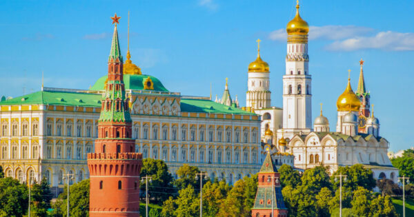 Best Attractions in Moscow - The Moscow Kremlin is The Residence of The President