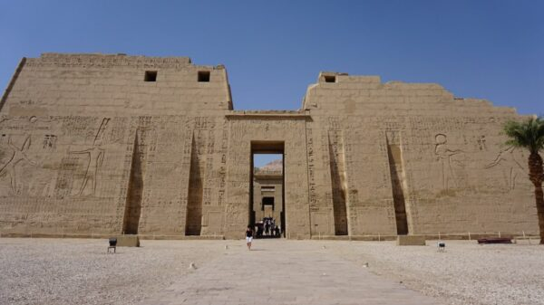 Medinet Habu - beautiful temples in Egypt