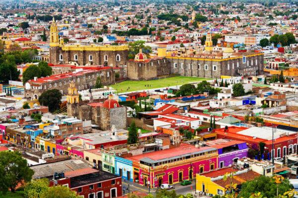 Puebla - tourist attraction in Mexico