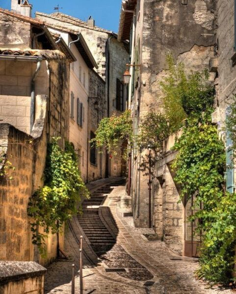Uzes - a beautiful village in France