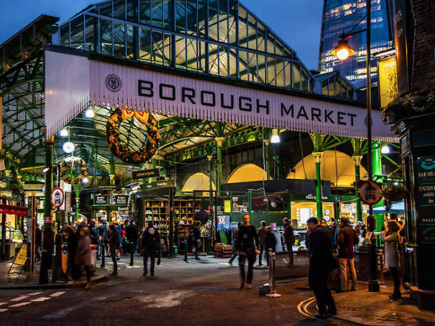Borough market - best street markets in the world