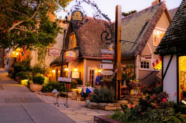 Carmel-by-the-Sea - romantic places in America