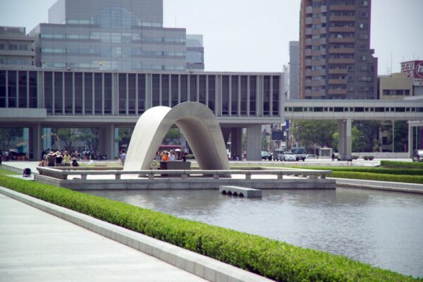 Hiroshima Peace Memorial is Located in A Park - Japan's Most Spectacular Tourist Destinations