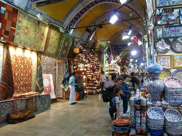 Istanbul Grand Bazaar- best street markets in the world