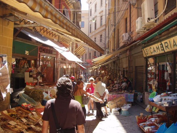La Vucciria- best street markets in the world