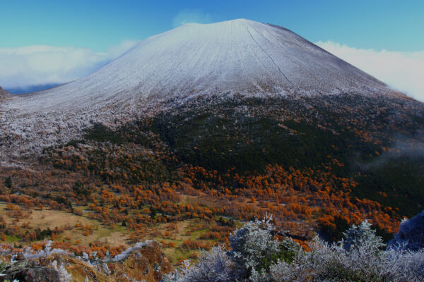 Famous Volcanoes in Japan - Mount Asama in The City of Karuizawa