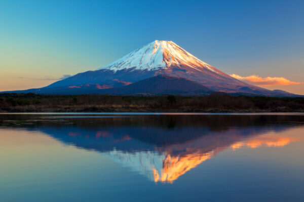 Famous Volcanoes in Japan - Mount Fuji Most Famous Mountain