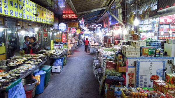 Namdaemun Market - street food in Seoul