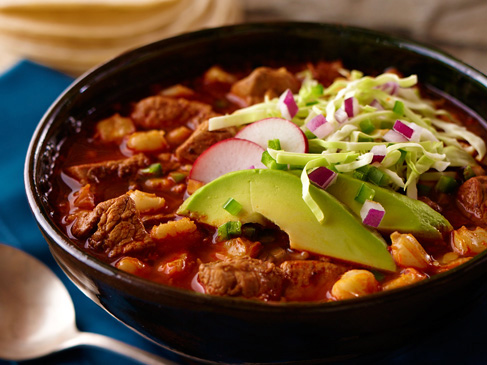 Pozole - Mexican food to try in Mexico