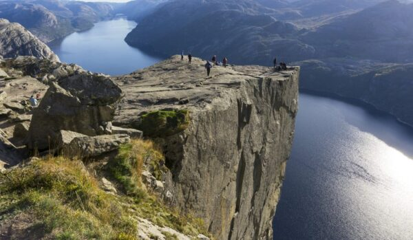 Preikestolen - tourist attraction in Stavanger