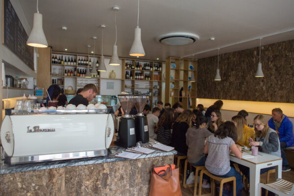 The Mill is An Australian Offers Vegemite, Eggs And Chorizo Sausages - style Cafe - Best 7 Cafes in Lisbon