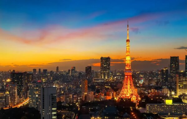 What to Do in Japan - Tokyo Tower Modern Structure Like Eiffel Tower