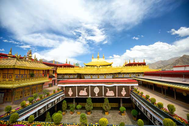Jokhang Temple - Known As Qoikang Monastery in Tibet