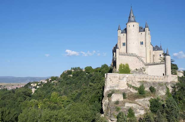 Beautiful Spanish Castles Near Madrid