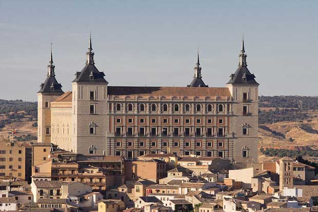 Beautiful Spanish Castles Near Madrid - Alcázar de Toledo A Symbol of Nationalism