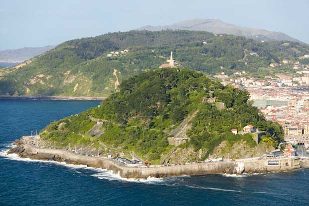 Attractions in San Sebastian - Monte Urgull A Mountain Near to The Plaza Zuloaga