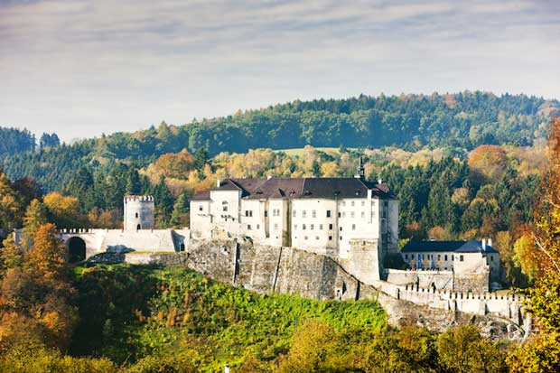 Beautiful Castles in Prague - Český Šternberk Castle Near The Sazava River
