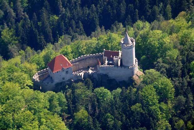 Beautiful Castles in Prague - Castle Kokorin A Medival Castle Built By Hynek Berka z Dubé
