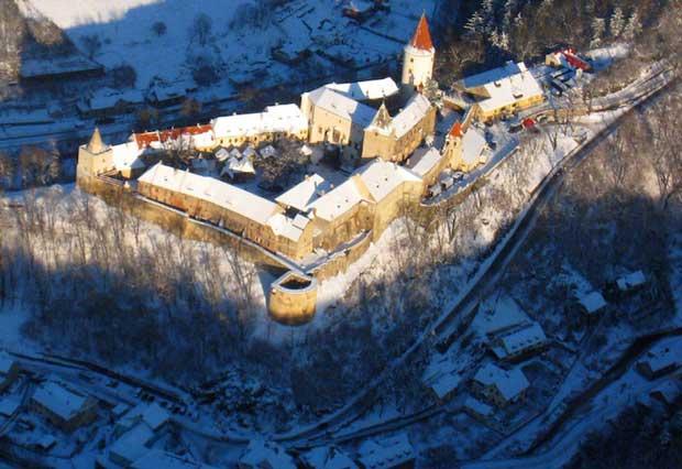 Attractions in Czech Republic - Křivoklát Castle Surrounded By Krivoklatsko Forest