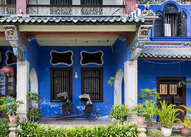 What to Do in Malaysia - Cheong Fatt Tze - The Blue Mansion An Important Tourist Attraction