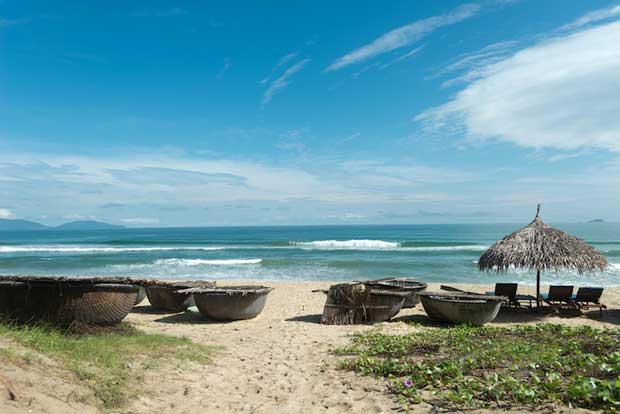 Best Attractions in Hoi An - An Bang Beach The Busiest beach in Vietnam