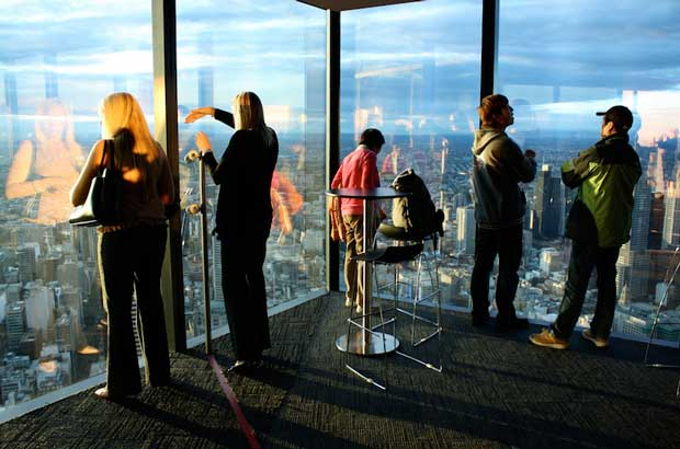 Australia Travel Guide - Eureka Skydeck Gives A Panoramic View