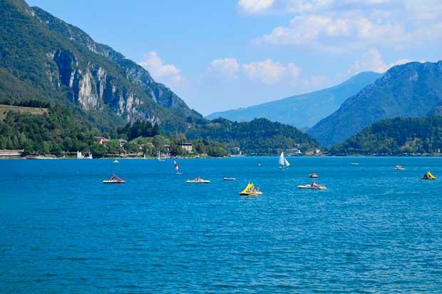10 Most Beautiful Lakes in Italy - Lago Di Ledro A Beautiful Scenary in Trentino Region