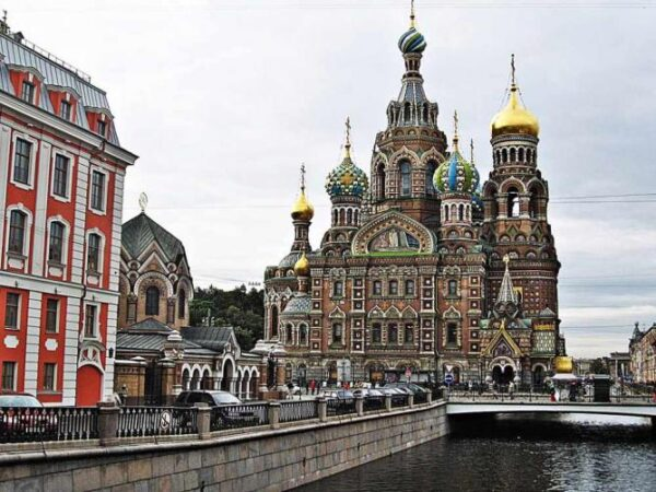 Most Beautiful Churches in Saint Petersburg
