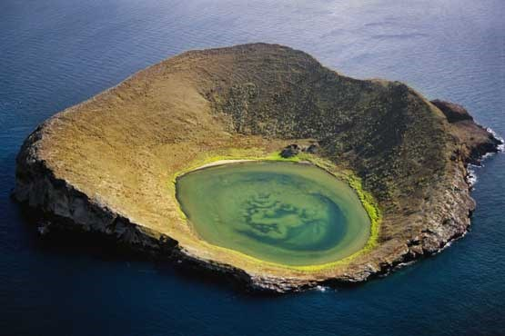 Best Attractions For Tourists - Sombrero Chino Located Pacific Archipelago of Ecuador Galapagos