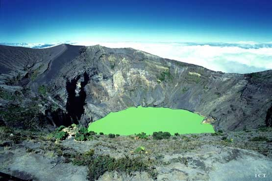 Most Amazing Volcanoes in The World - Irazú Volcano Has A Green Acid Lake