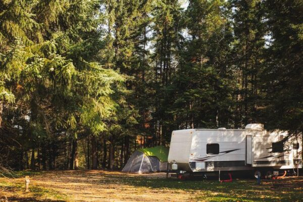 Tips For Vacation on The Cheap - Try Camping if The Situation Allows it