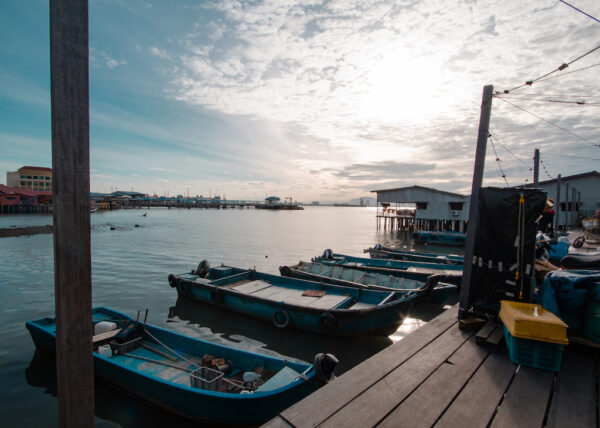 Best Attractions in Penang - Chew Jetty A Harbor Where Chinese Immigrants Worked