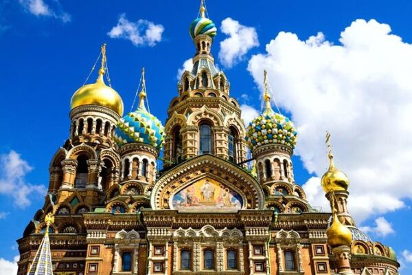Most Beautiful Churches in Saint Petersburg - Savior on the Spilled Blood An old Russian Architecture