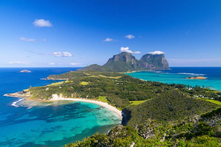 Best of Australian Islands to Visit - Lord Howe Island A Great Place For Swimming & Diving
