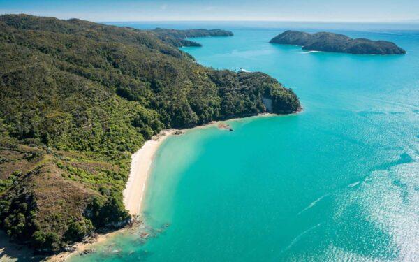 Nature in New Zealand - Abel Tasman National Park And Abel Tasman Coast Track Best Place For Kayaking