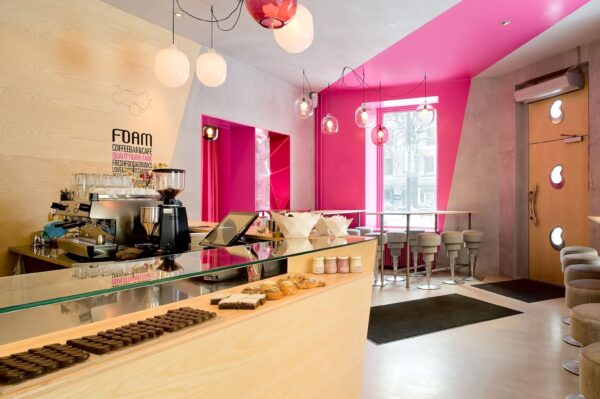 Top Cafes in Stockholm - Café Foam Has A Beautiful Interior Design