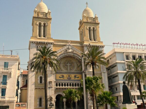 Tourist Attractions in Tunis - Cathedral of St Vincent de Paul From French Colonial Period