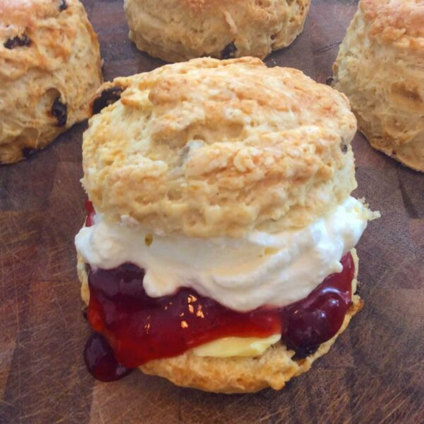 What to Do in Ireland - Irish Scones Comes With Jam And Cream First Made in UK
