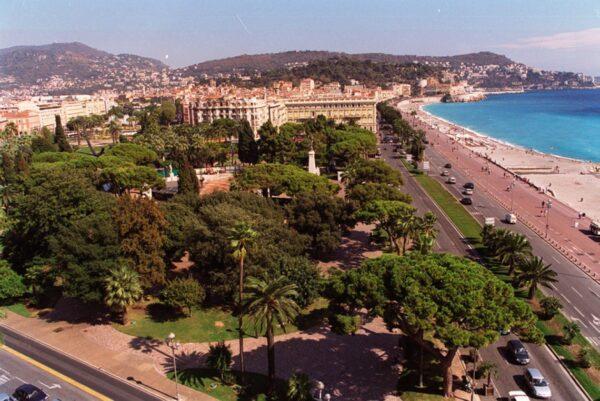 Beautiful Tourist Attractions in Nice - Jardin Albert 1er A Garden Near Place Masséna