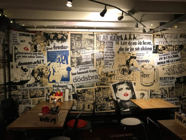 Top Cafes in Stockholm - Kafé 44 For Left And Anarchist Leaning Musicians